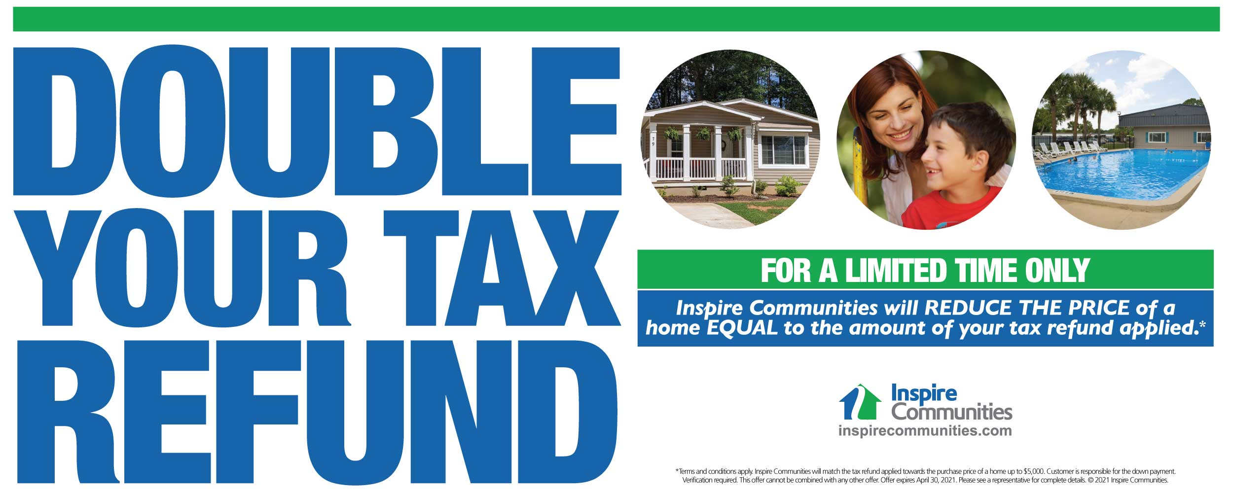 Double Your Tax Refund Banner