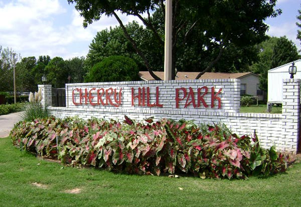 CherryHillMHC Entrance Sign