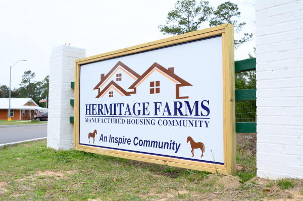 Hermitage Farms Signage