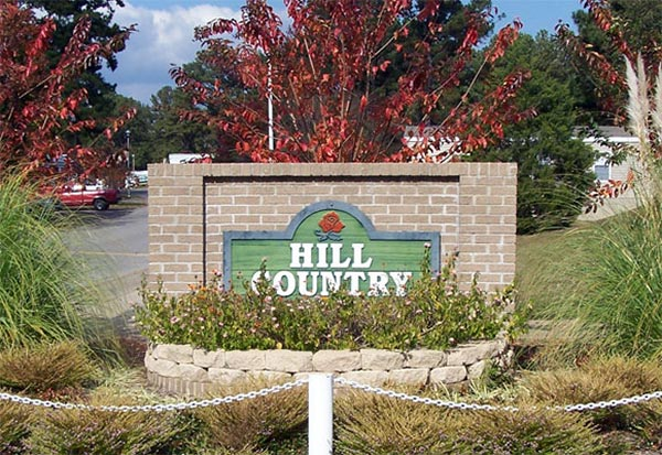 HillcountryMHC Sign entrance