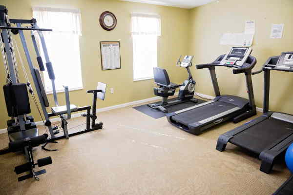 Whisper Creek Fitness Room